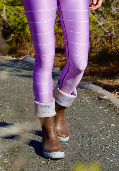 Lupine & Lilac Leggings