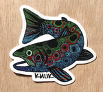 Trout Sticker