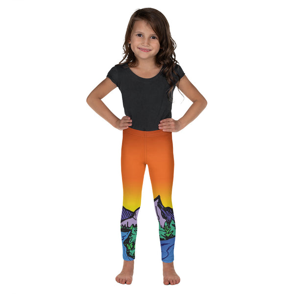 Summer Sky Kiddo Legging