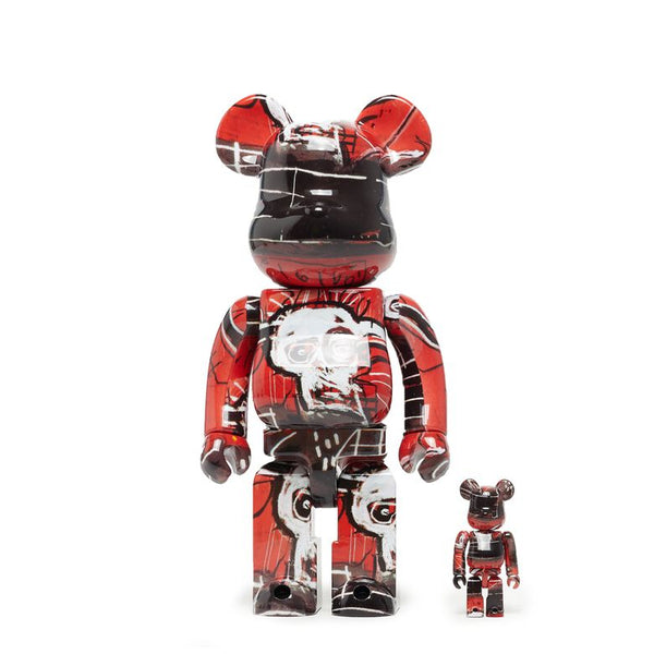 Jean Michel Basquiat V5 Bearbrick Set