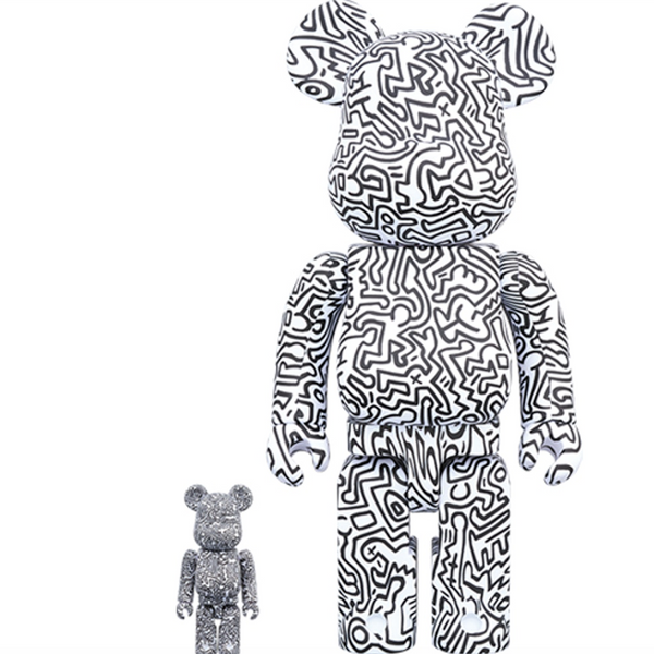 Keith Haring V4 Bearbrick Set
