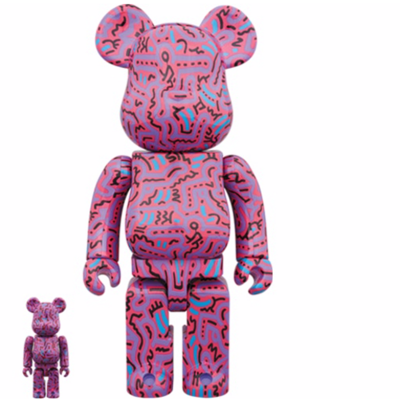 Keith Haring V2 Bearbrick Set