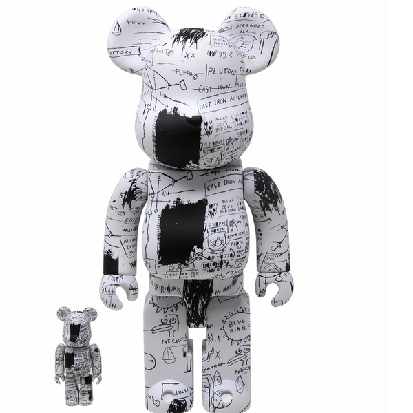 Basquiat V3 Bearbrick Set