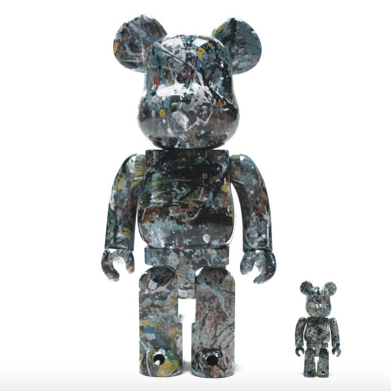 Pollock V2 Bearbrick Set