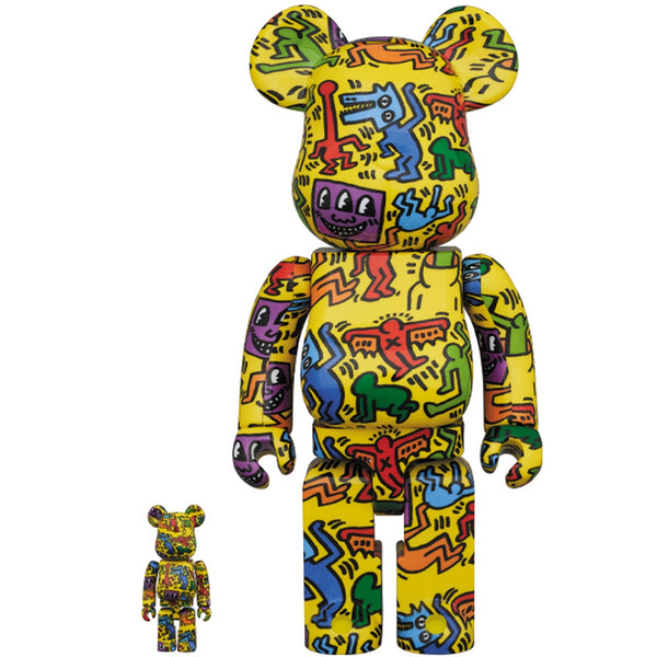 Keith Haring V5 400% Bearbrick Set