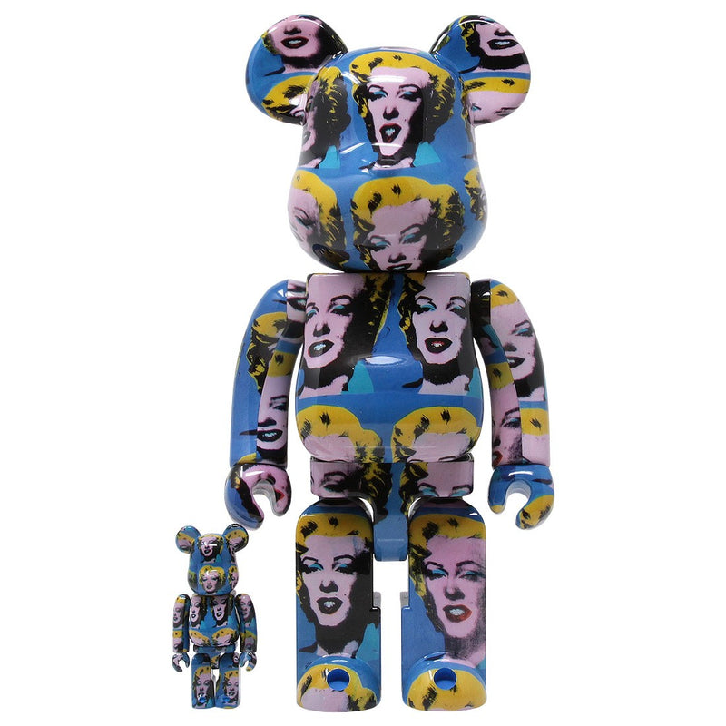 Andy Warhol Marilyn Monroe 400% Bearbrick Set