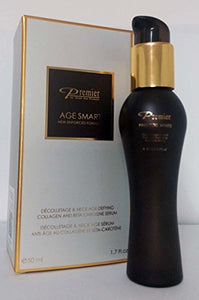 Dead Sea Premier AGE SMART Décolletage & Neck Age - Defying Collagen and Beta-Carotene Serum