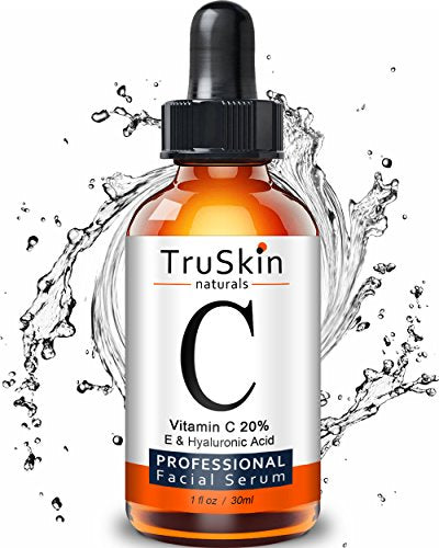 Vitamin C Facial Serum with Hyaluronic Acid & Vitamin E, 1 fl oz.