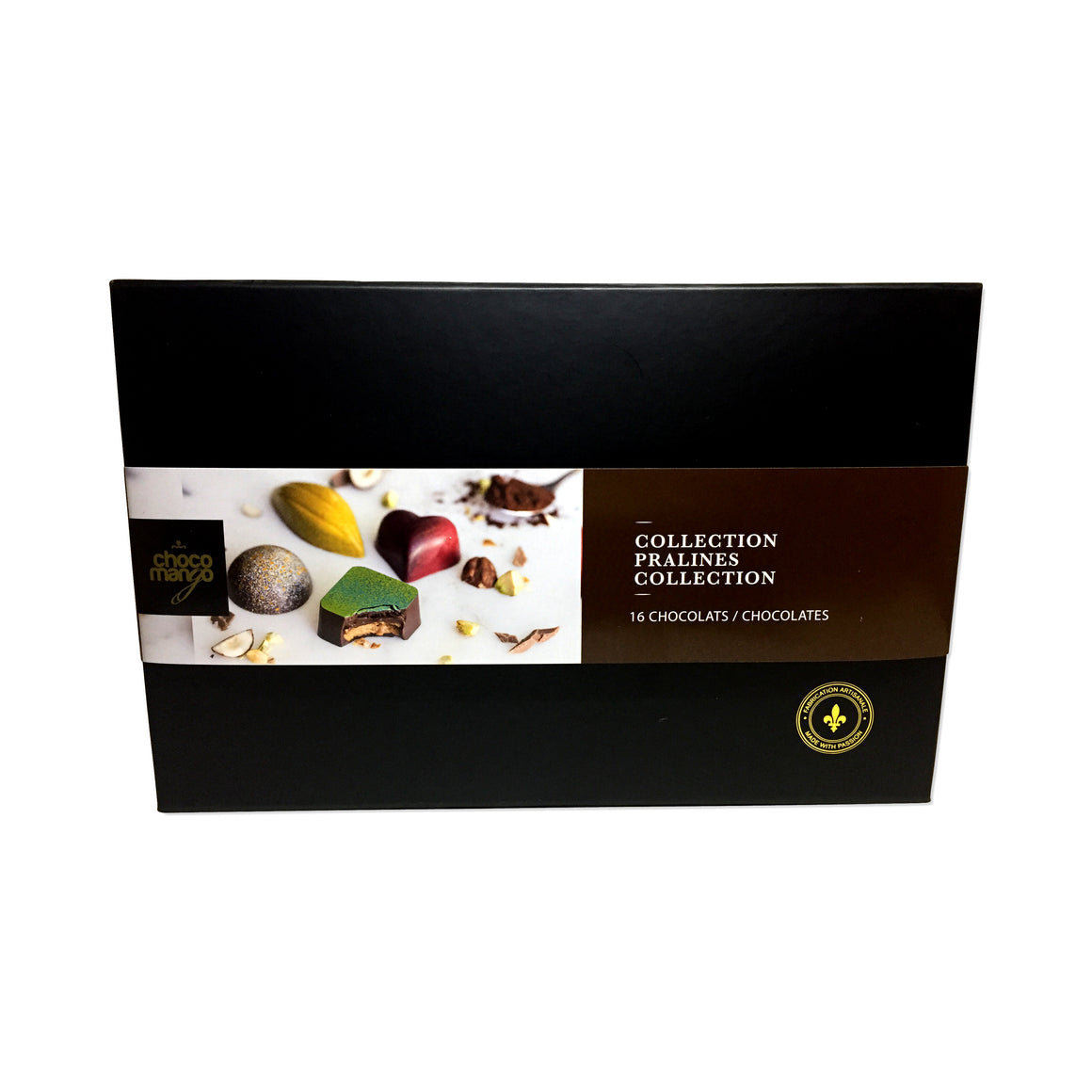 Collection pralines (16 chocolats)