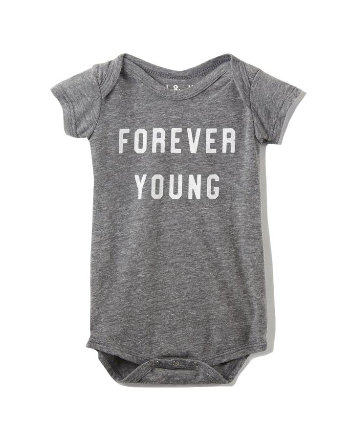 FOREVER YOUNG - KIDS ONESIE/TEE