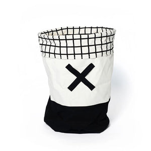 OLÉ TOY/LAUNDRY HAMPER - BLACK