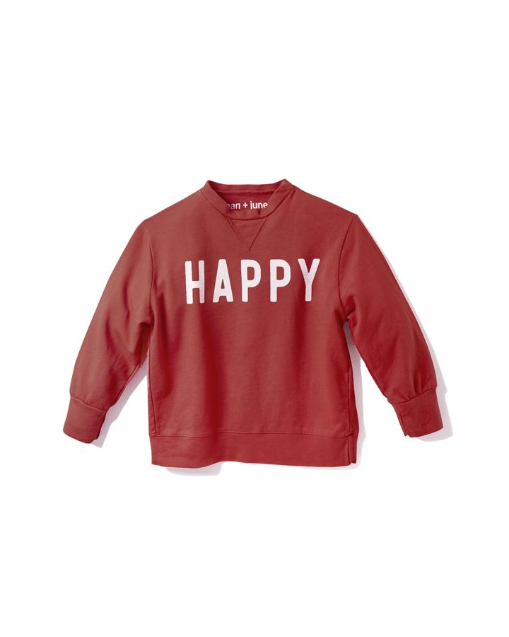 HAPPY - KID'S SWEATSHIRT