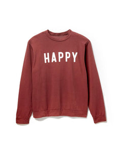 HAPPY - WOMEN'S SWEATSHIRT