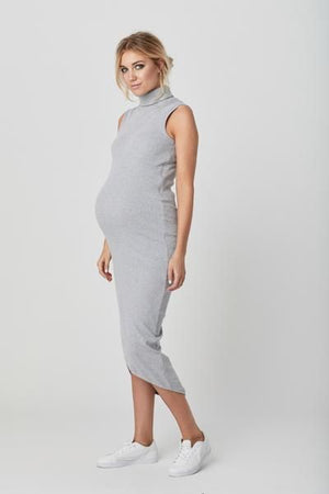 YARRA DRESS - GREY MARLE