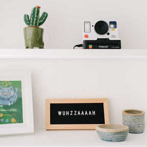 THE MINI OAK - LETTERBOARD