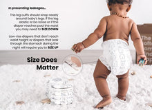 CLEAR + DRY DIAPERS