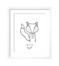 MODERN ART PRINT - FINN THE FOX