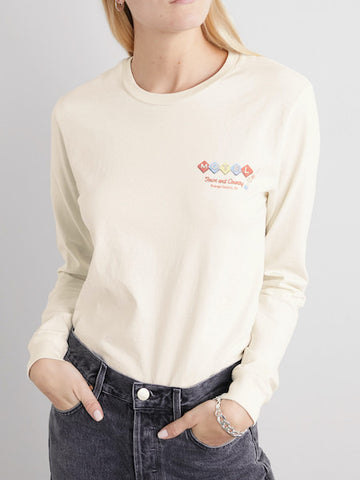 "90's Long Sleeve Tee ""MOTEL"""