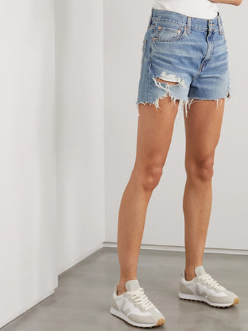 Karen Cutoffs in Mote Destroyed, DENIMIST - VALLEY TRIBECA