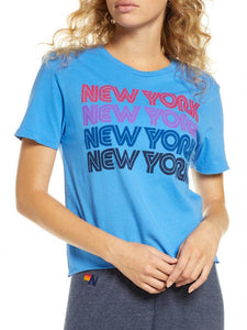 New York Repeat Boyfriend Tee, AVIATOR NATION - VALLEY TRIBECA