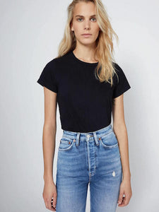 Classic Tee in Black, RE/DONE - VALLEY TRIBECA
