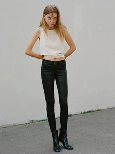 High Rise Skinny Leather Pant, RAG AND BONE - VALLEY TRIBECA