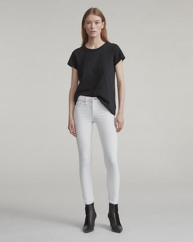 Rag & Bone White Skinny Jean - VALLEY TRIBECA