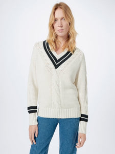 Tennis Sweater, RE/DONE - VALLEY TRIBECA