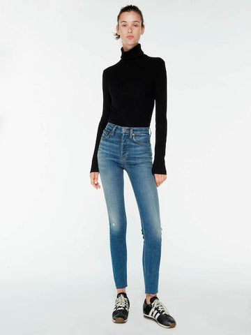 Power High Rise Ankle Crop Jean, RE/DONE - VALLEY TRIBECA