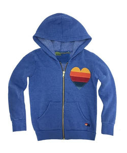Kids Heart Hoodie, AVIATOR NATION KIDS - VALLEY TRIBECA