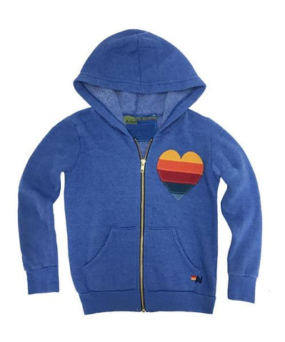 Aviator Nation Kids Heart Hoodie - VALLEY TRIBECA