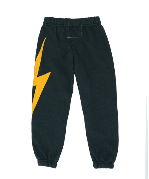 Bolt Stitch Sweatpant in Charcoal, AVIATOR NATION KIDS - VALLEY TRIBECA