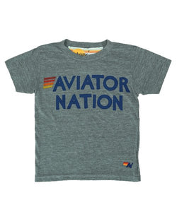 Aviator Nation Kids Words Tee - VALLEY TRIBECA