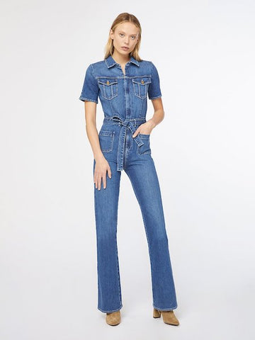 Le Bardot Jumpsuit, FRAME - VALLEY TRIBECA