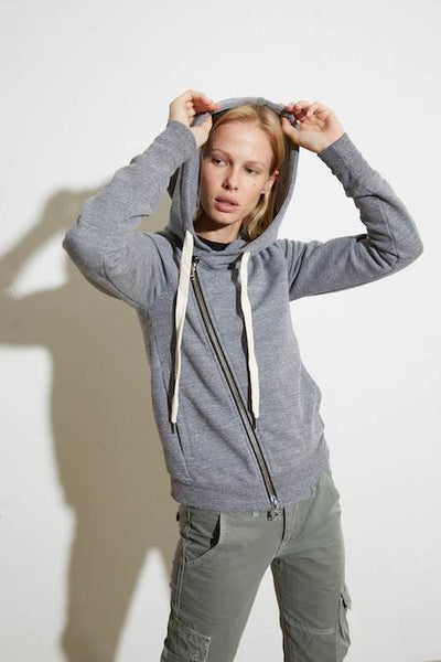 Walker Hoodie in Heather Grey, NSF - VALLEY TRIBECA