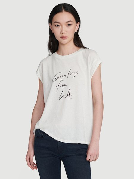 Slouchy Rolled Tee