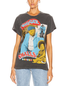 Crew Tee- Biggie Smalls, MADEWORN - VALLEY TRIBECA