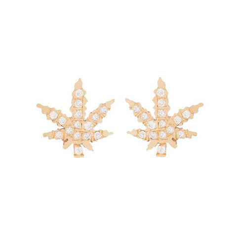 Diamond Pot Earrings - Pair, BIANCA PRATT - VALLEY TRIBECA