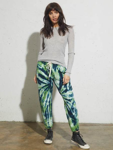 Sayde Sweatpant in Clover Tie Dye, NSF - VALLEY TRIBECA