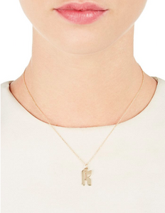 Gothic Letter Necklace, BIANCA PRATT - VALLEY TRIBECA