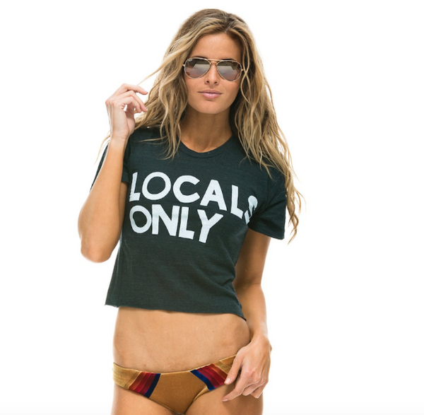 Locals Only BF Tee, AVIATOR NATION - VALLEY TRIBECA