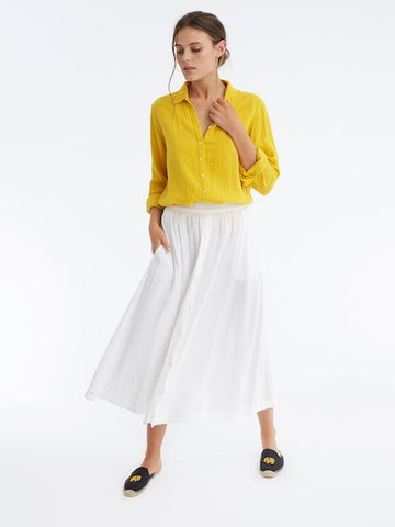 Teagan Skirt in White, XIRENA - VALLEY TRIBECA