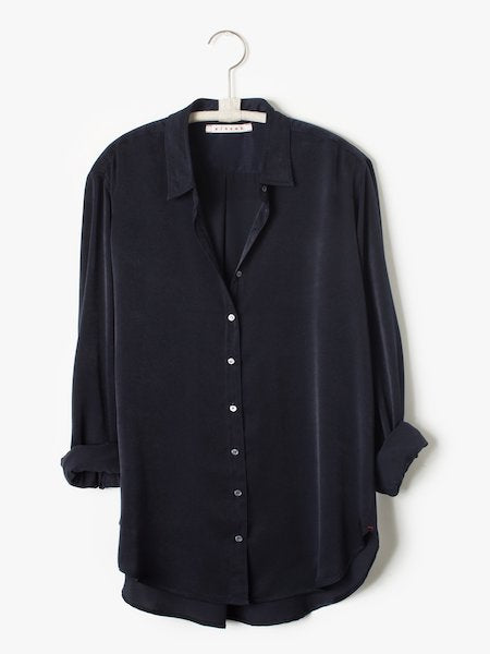 New Beau Shirt in Black, XIRENA - VALLEY TRIBECA