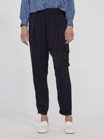 Cargo Pant in Black, RAQUEL ALLEGRA - VALLEY TRIBECA