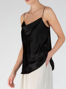 Silk Cowl Neck Cami, ATM - VALLEY TRIBECA