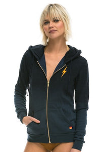 Faded Bolt Zip Hoodie, AVIATOR NATION - VALLEY TRIBECA