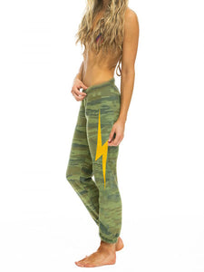 Camo Bolt Print Sweatpants, AVIATOR NATION - VALLEY TRIBECA