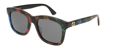 Glitter Stripe GG0326S Sunglasses, GUCCI - VALLEY TRIBECA