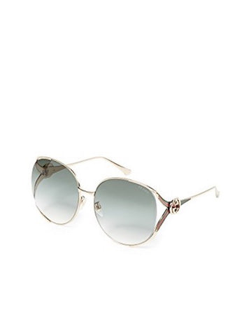 Round-Frame GG0225S Sunglasses, GUCCI - VALLEY TRIBECA