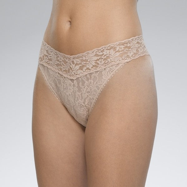 Original Rise Lace Thong, HANKY PANKY - VALLEY TRIBECA